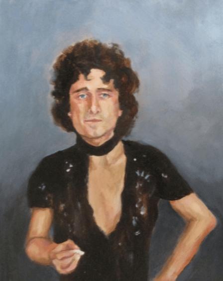 Irene Lafferty Oil Painting