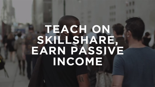 Teach on Skillshare, Earn Passive Income (Special offer for Pixpa Users)
