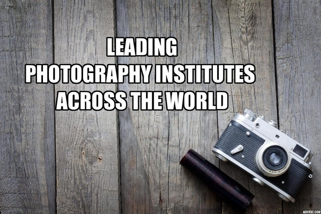 Top 10 Photography Schools