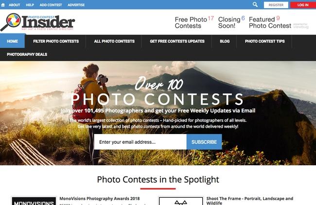 Photo contest insider