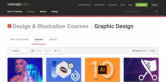 Illustration and Design Courses by Envato Tuts+