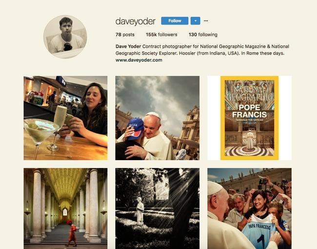 Dave Yoder Instagram