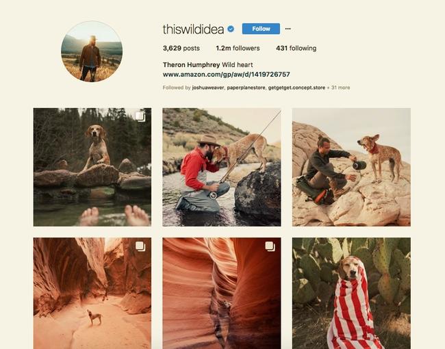 Theron Humphery Instagram