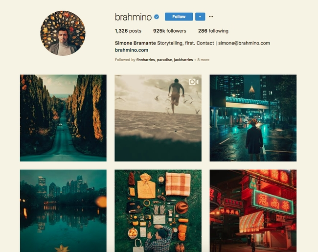 Simone Bramante Instagram