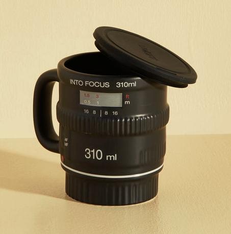 Pour and Shoot Camera Mug
