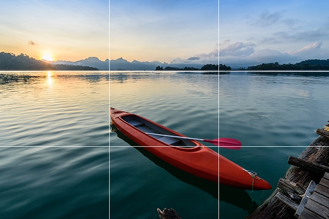 Landscape Photography Rule of Third