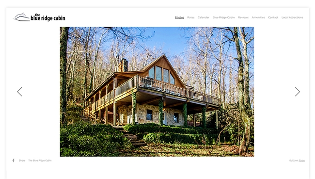 The Blue Ridge Mountain Cabin
