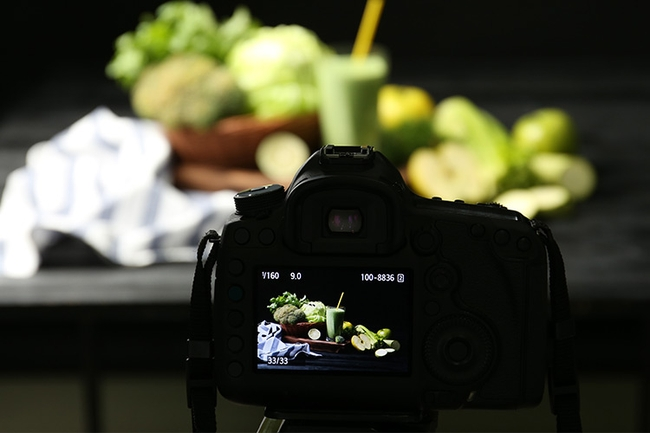 Camera angles for food photography