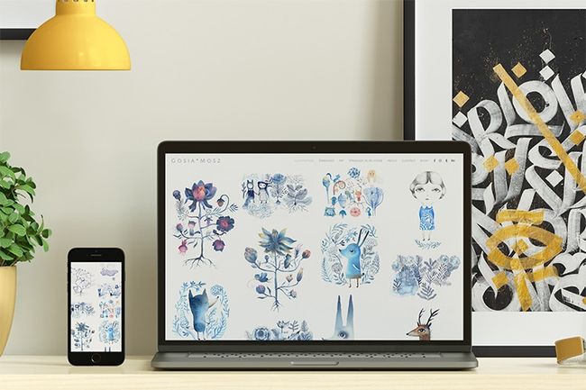 10+ Awesome Illustrator Portfolio Websites You Must See