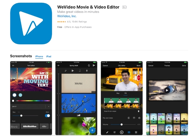 WeVideo - Video and Movie Editor