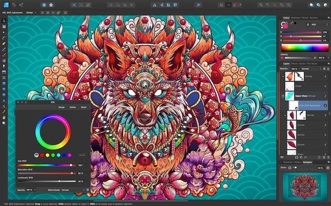 Affinity Designer - best drawing apps