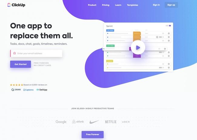 ClickUp - Task Management Productivity App