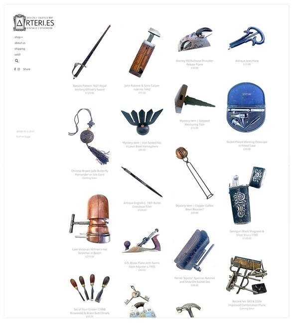 Ecommerce store example on Pixpa
