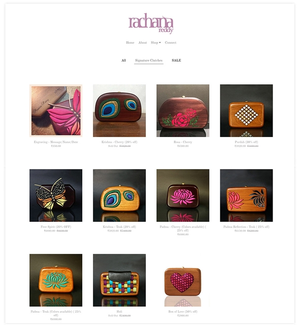 Pixpa Ecommerce enabled gallery