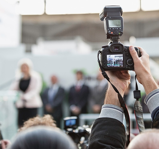 Camera settings for event photography