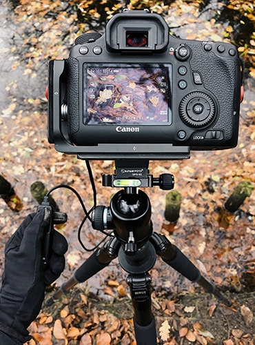 Use a Tripod for Speeds