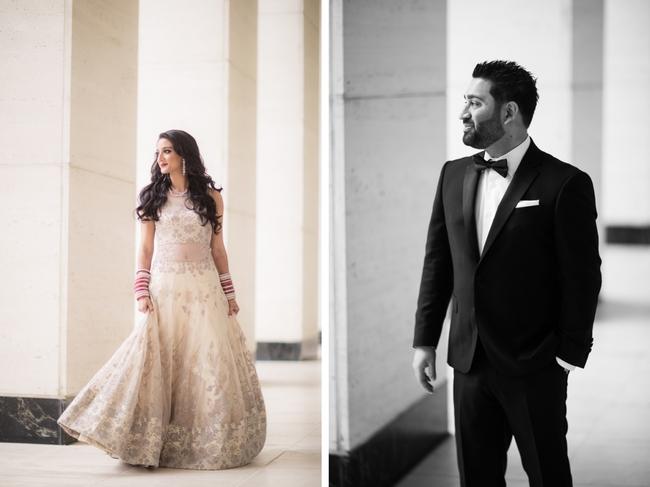 Fashion wedding photography poses
