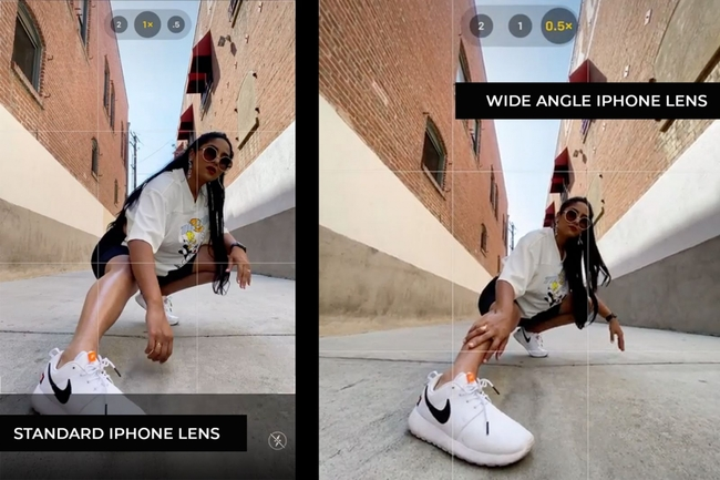 Use the Wide Angle Lens For iPhone Photography