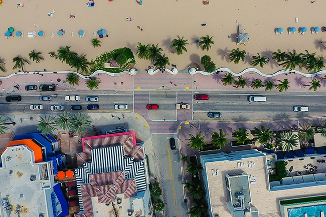 Drones photography