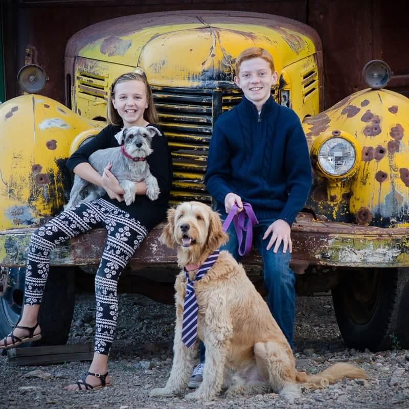 Kade and Amy Baird Portfolio Website Examples