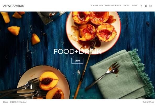 Anwita Sarin Portfolio Website Examples