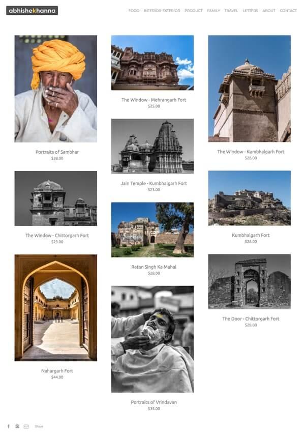Abhishek Khanna Portfolio Website Examples