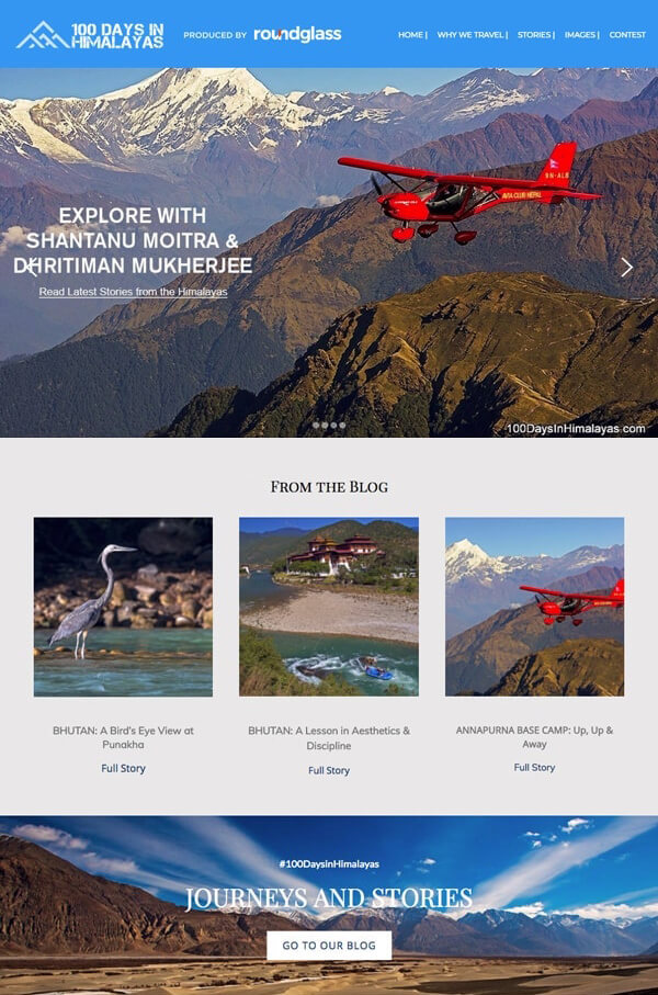Shantanu-Dhritiman Portfolio Website Examples