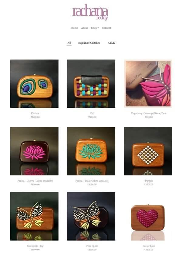 Rachna Reddy Portfolio Website Examples