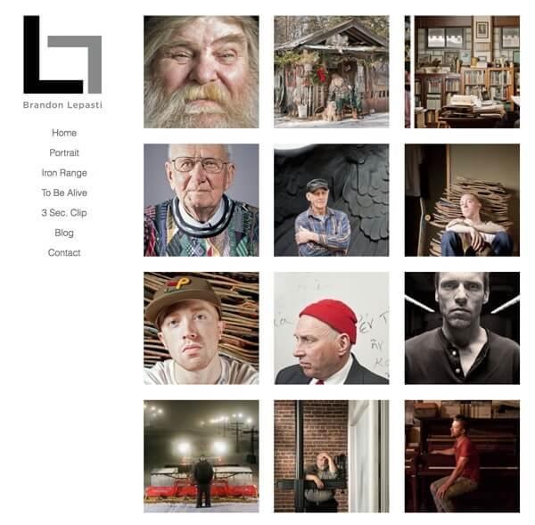 Brandon Lepasti Portfolio Website Examples