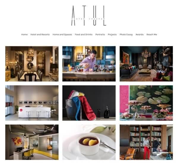 Atul Pratap Portfolio Website Examples