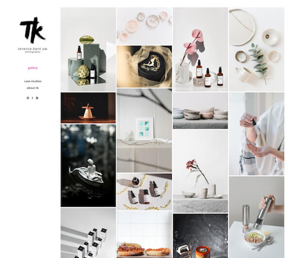 Terence-Kent Ow Portfolio Website Examples