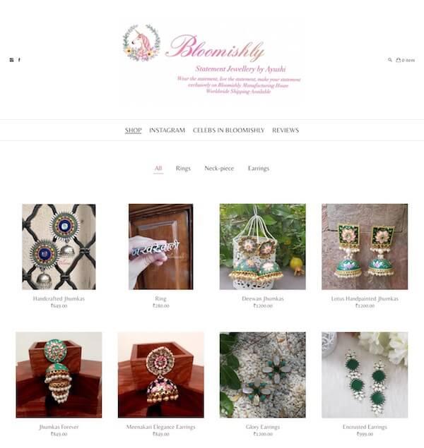 Ayushi Sharma Portfolio Website Examples