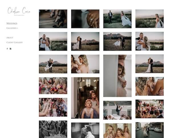 Chelsea Cara Portfolio Website Examples