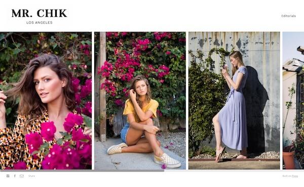 Alex Chik Portfolio Website Examples
