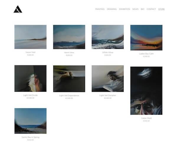 Darren Cranmer Portfolio Website Examples