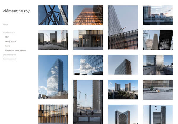 outstanding architecture portfolio website examples pixpa of