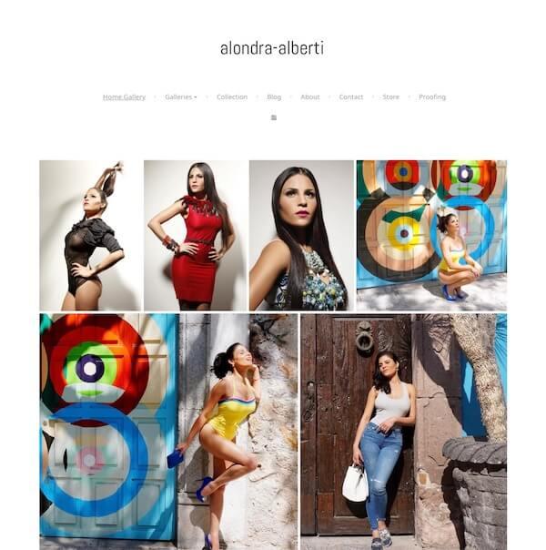 Alondra Alberti Portfolio Website Examples