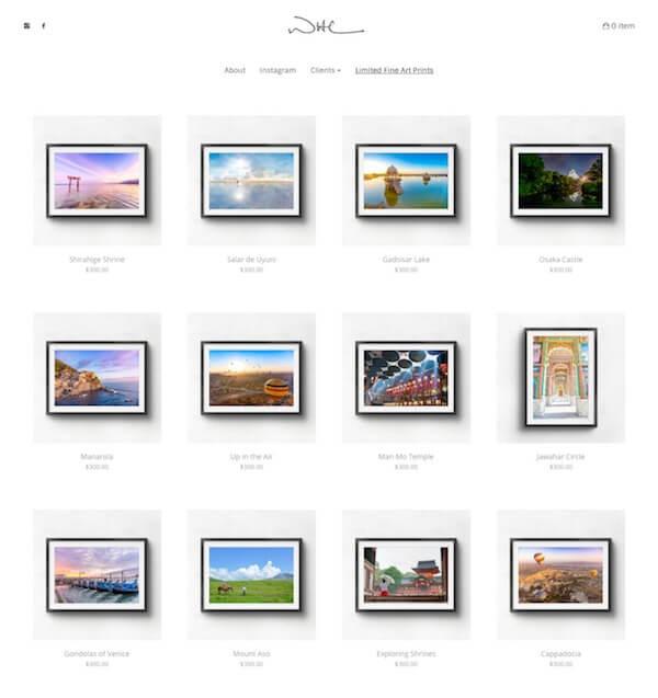 Wayne Holt Chan Portfolio Website Examples