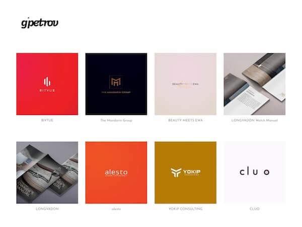 Goce Petrov Portfolio Website Examples