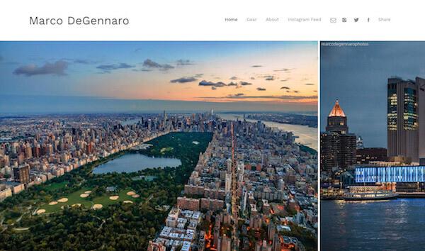 Marco Degennaro Portfolio Website Examples