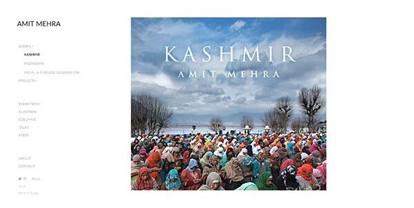 Amit Mehra Portfolio Website Examples