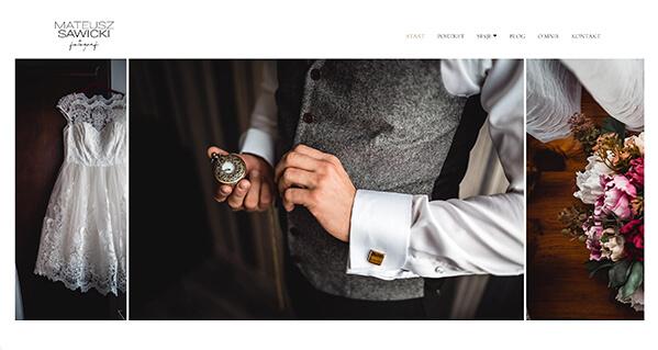 Mateusz Sawicki Portfolio Website Examples
