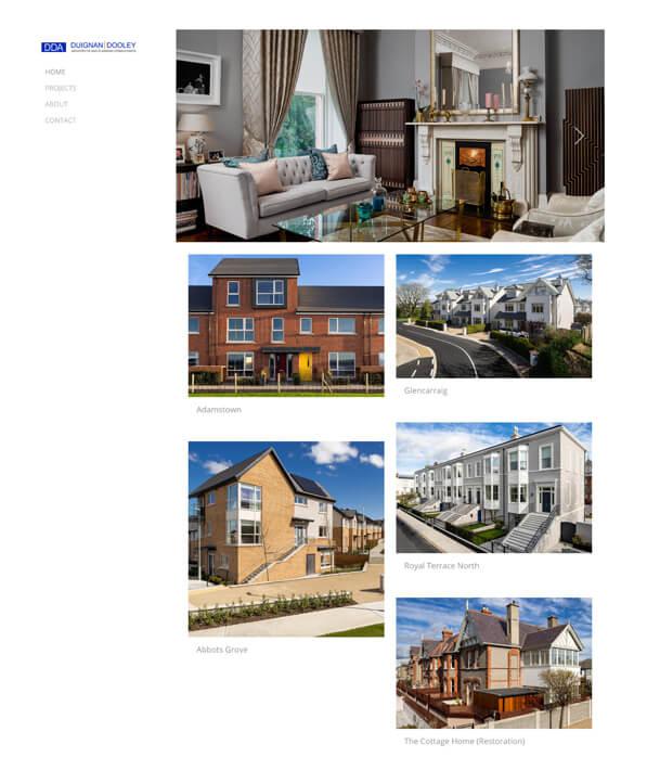 Duignan Dooley Portfolio Website Examples