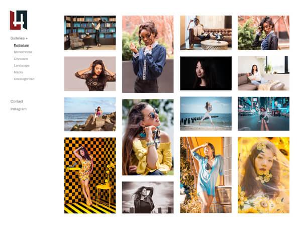 Hoover Tung Portfolio Website Examples