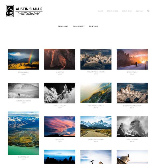 Austin Siadak Portfolio Website Examples