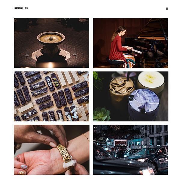 Megumi Ozaki Portfolio Website Examples