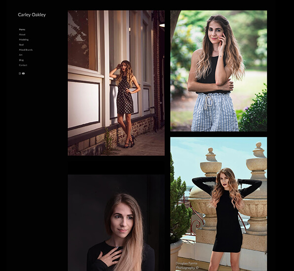 Fashion Portfolio Website Examples Pixpa