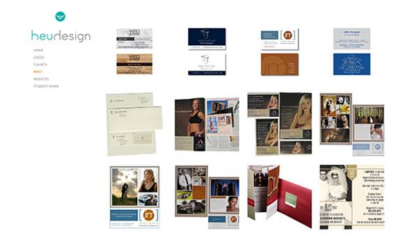 Karen Heuwagen Portfolio Website Examples