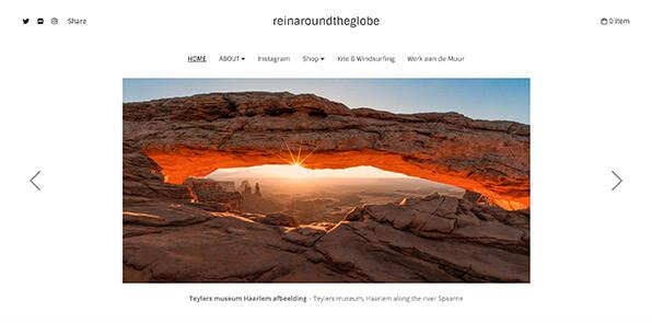 Reinier Snijders Portfolio Website Examples