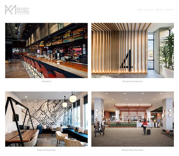Kelsey McCarrel Portfolio Website Examples